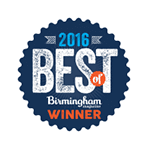 Birmingham Magazine Best of Winner 2016