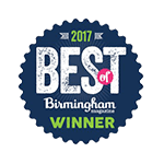 Birmingham Magazine Best of Winner 2017