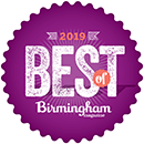 Birmingham Magazine Best of Winner 2019
