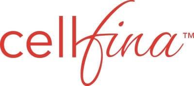 Orange Cellfina Logo (no tagline) - JPG Format